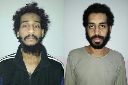 IS fighters El Shafee ElSheikh,  Alexanda Kotey