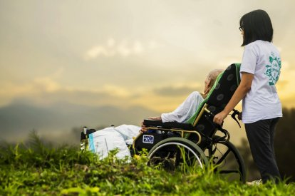 Elderly cancer patient