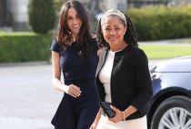 Meghan Markle and her mother Doria Ragland