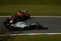 Lewis Hamilton Alex Albon