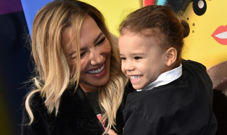 Naya Rivera with her son Josey