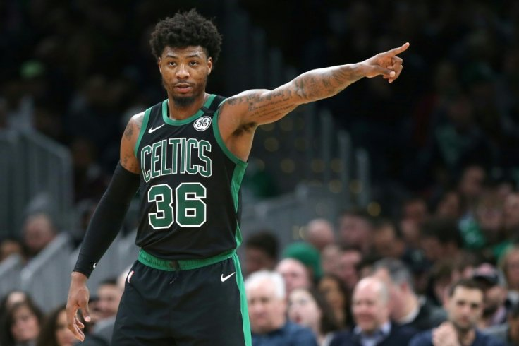 Celtics star Marcus Smart blows up on his teammates after Miami Heat defeat