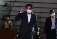 Japan's outgoing PM Shinzo Abe