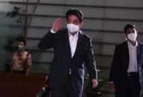 Japan's outgoing PM Shinzo Abe