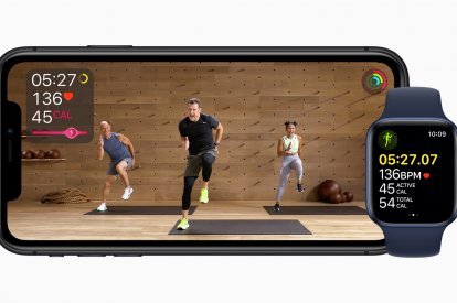 Apple introduces the Fitness+ workout streaming service