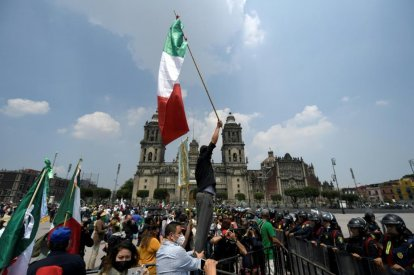 Mexican Protesters