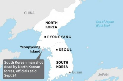 North Korea shooting