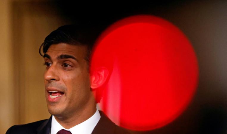 UK finance minister Rishi Sunak