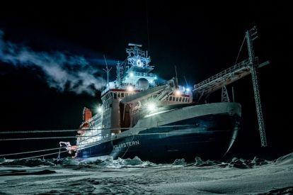 German Alfred Wegener Institute's Polarstern ship