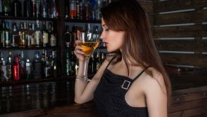 Young Woman Drinking