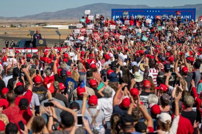 US President Trump's rally