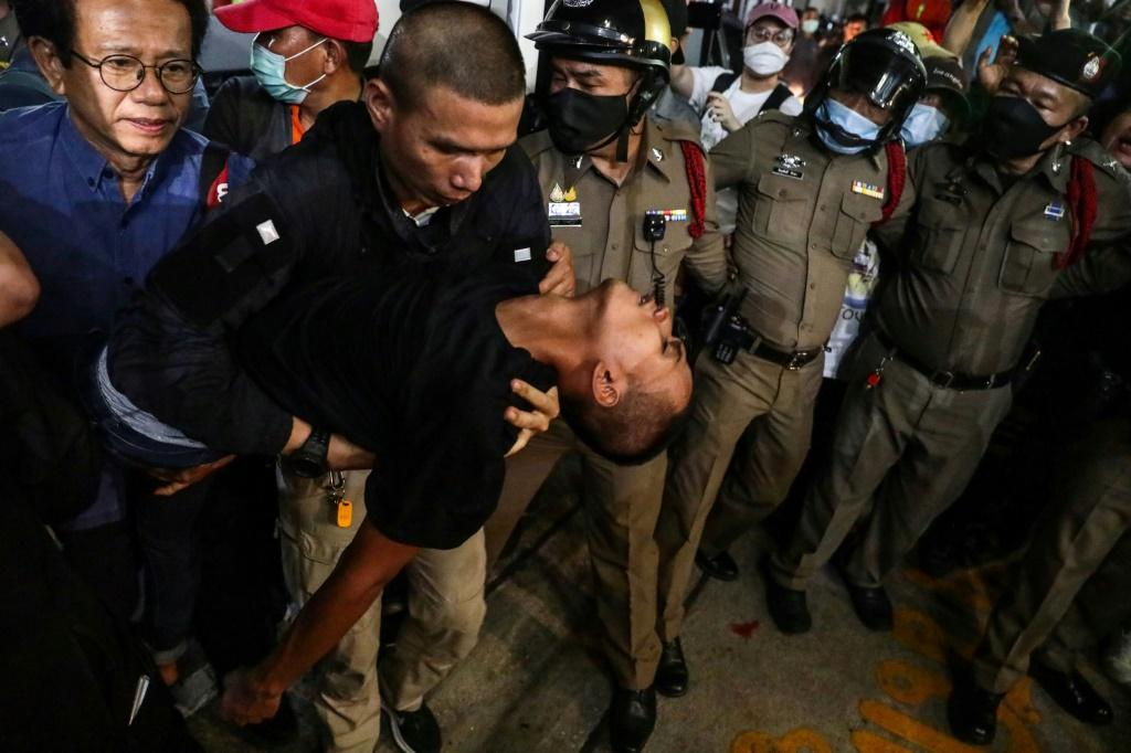 Thailand protests: Three pro-democracy leaders in hospital