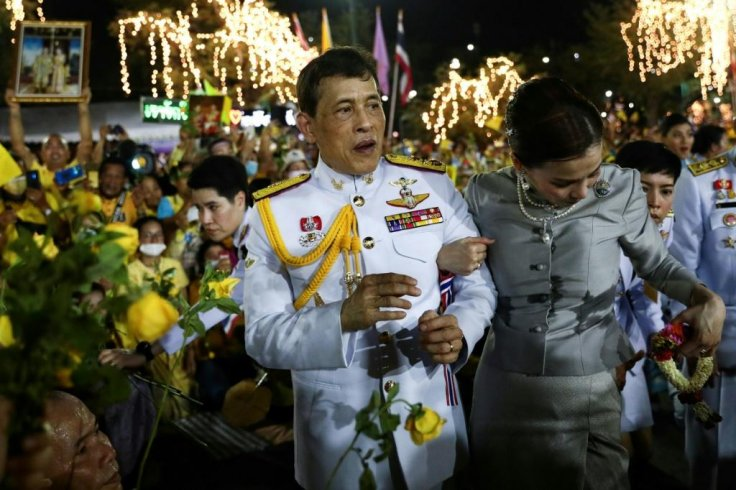 Thai King Maha Vajiralongkorn and Queen Sotheda.