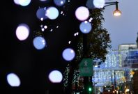 Festive cheer lacking for London shoppers