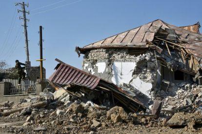 Shusha in Azerbaijan, Armenia War