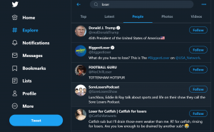 Twitter search algorithm results explained after election