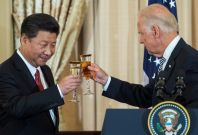 Joe Biden and China's Xi Jinping