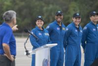 SpaceX to take 4 astronauts to ISS