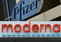 Pfizer and Moderna