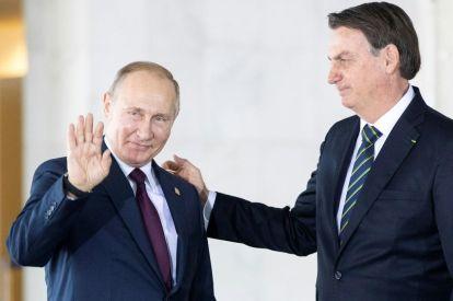 Vladimir Putin, Jair Bolsonaro