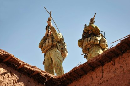 Australian uniformed personnel served in Afghanistan