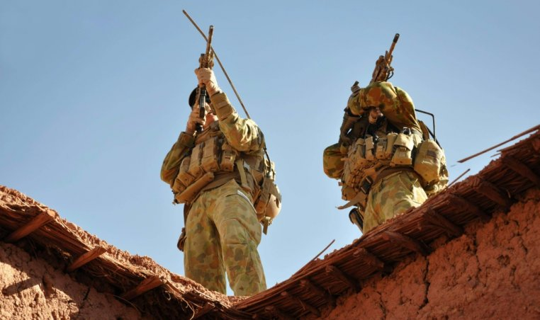 Australian uniformed personnel served in Afghanistan