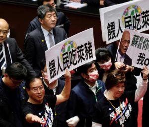 Taiwanese legislators