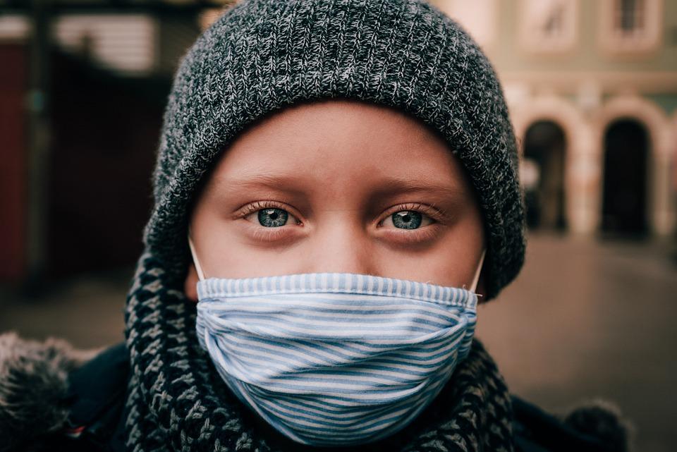 What are the coronavirus symptoms in children that can be predictive of positive COVID-19 result?