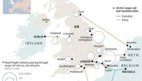 Brexit trade routes