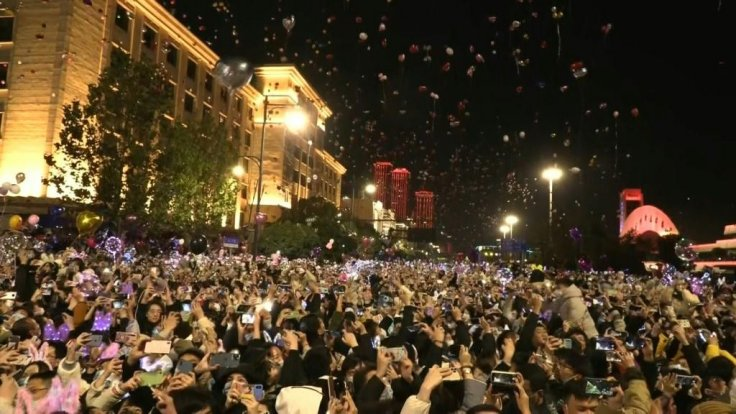 New Year in Wuhan