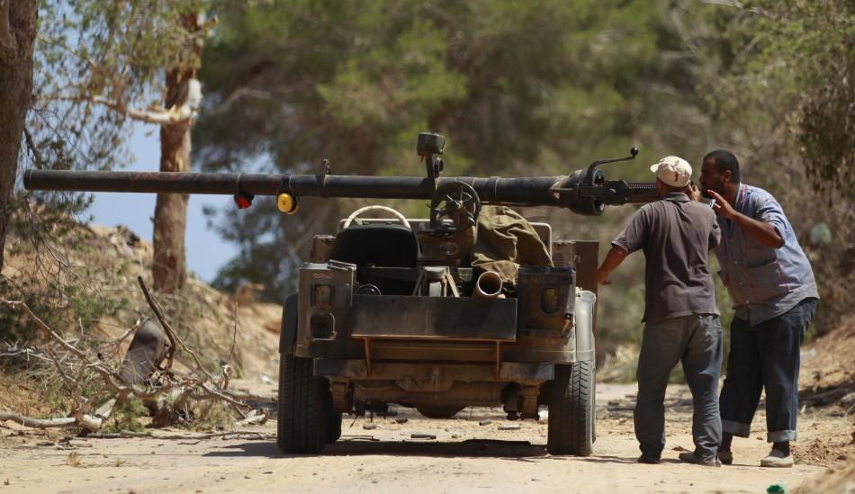 Libya vehicles of war