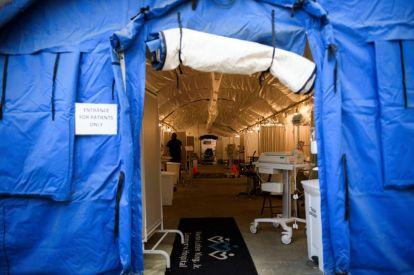 LA field hospital