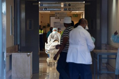 South Africa covid crisis