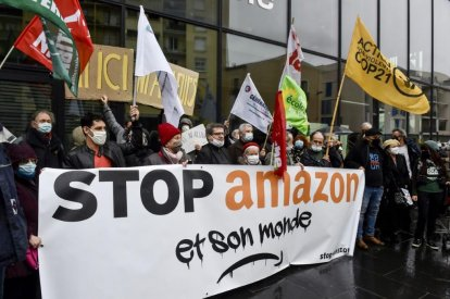 Amazon expansion protests