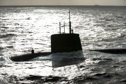 French nuclear submarine
