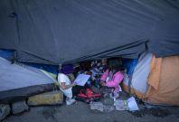 Mexico migrant camp