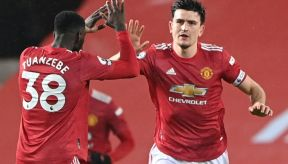 Harry Maguire and Anthony Martial