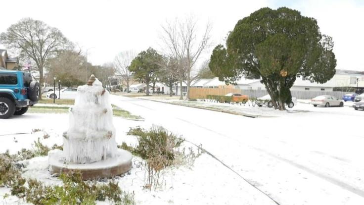 US snow storm