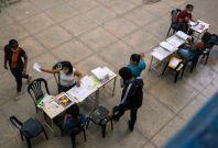 Parents Enrolling