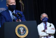 Joe Biden, Anthony Fauci