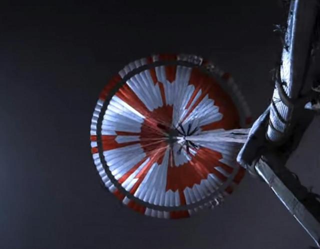 NASA reveals secret message hidden in Perseverance rover's parachute