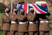 Tom Moore's funeral