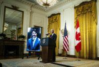 Joe Biden, Justin Trudeau