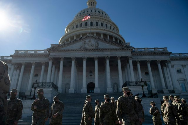 National Guard soldiers at U.S. Capitol get sick after being fed raw meat