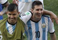 Sergio Aguero, Lionel Messi