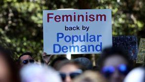 Gender equality protest in Australia