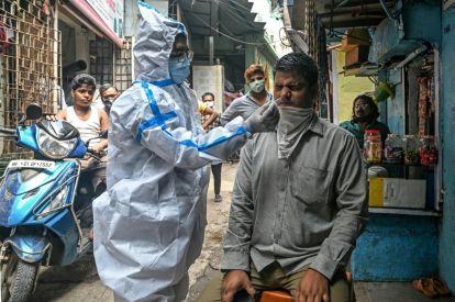 India coronavirus testing