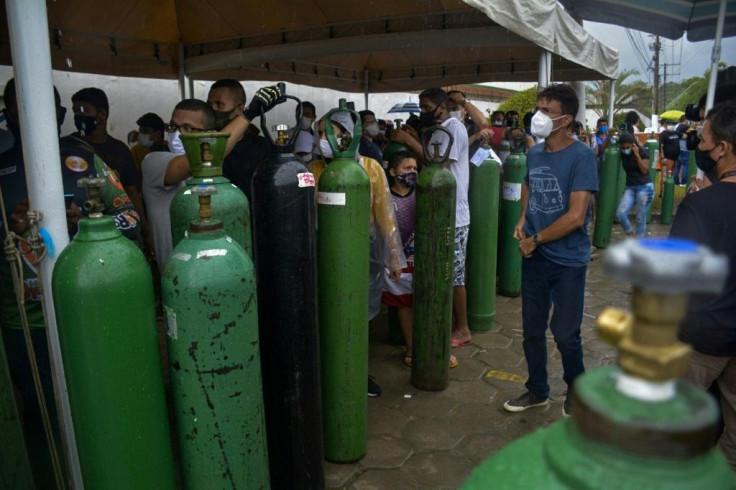 Brazil Oxygen supply