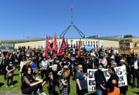 Australia Mass Protests