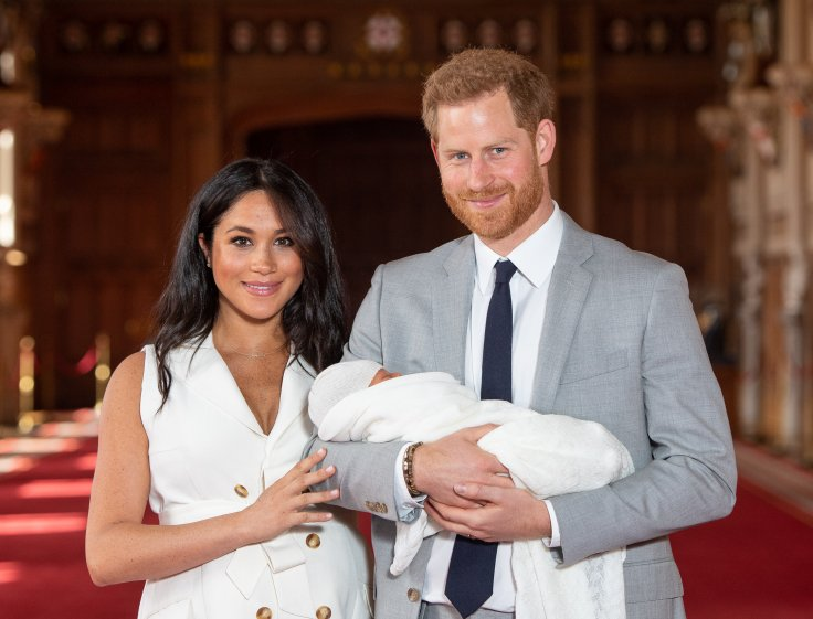 Prince Harry, Meghan Markle and son Archie